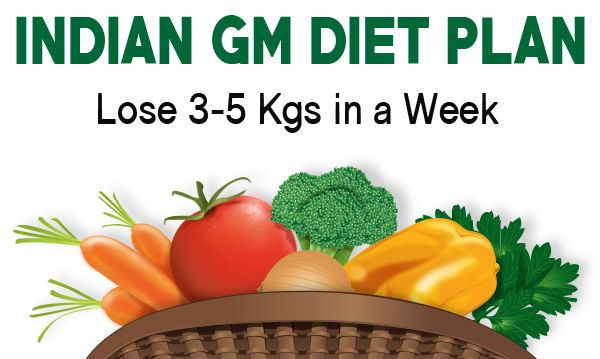 How To Lose Weight In 7 Days Follow This Indian Diet Chart Health Keeda