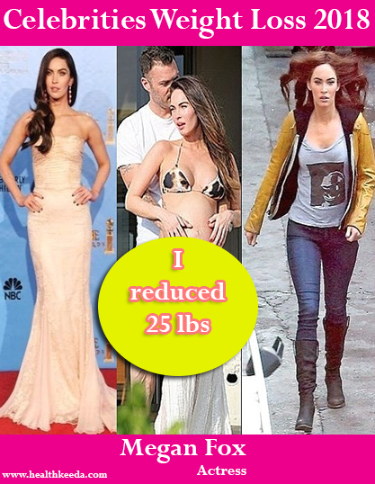 Megan Fox Weight Loss Before After
