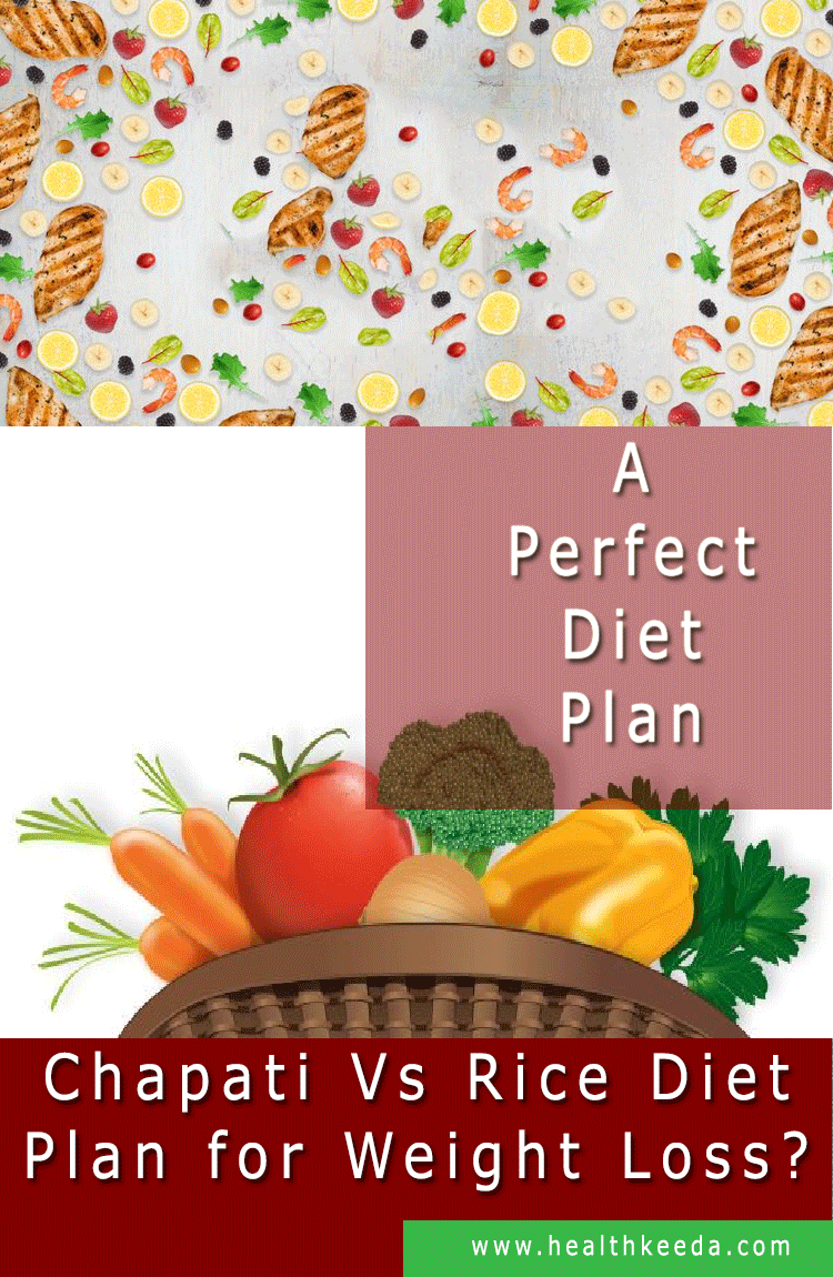Perfect Diet Plan Chapati Vs Rice Diet Plan for Weight Loss