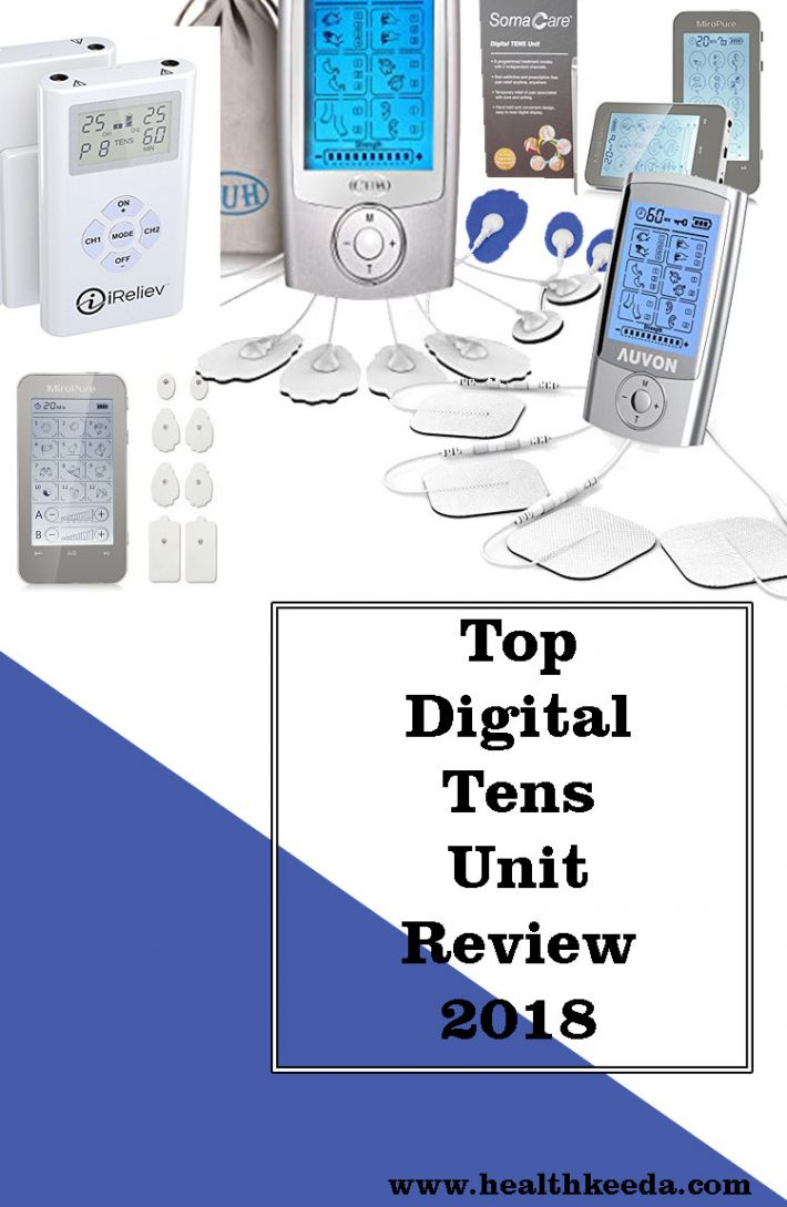 top digital tens unit reviews 2018