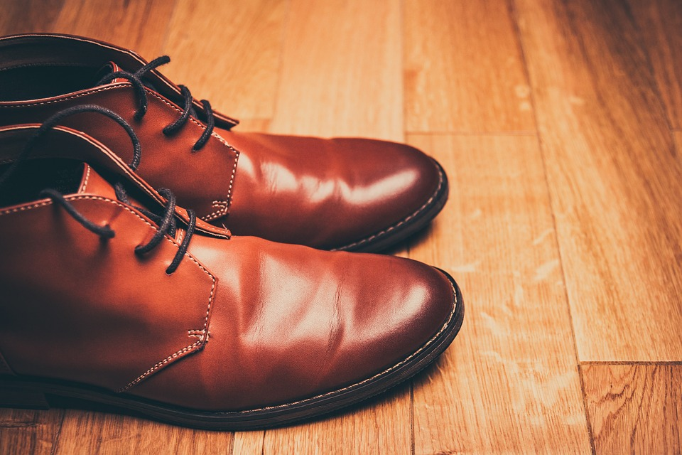 Brown Shoes, Lace-Up Shoes, Brown Leather Shoes