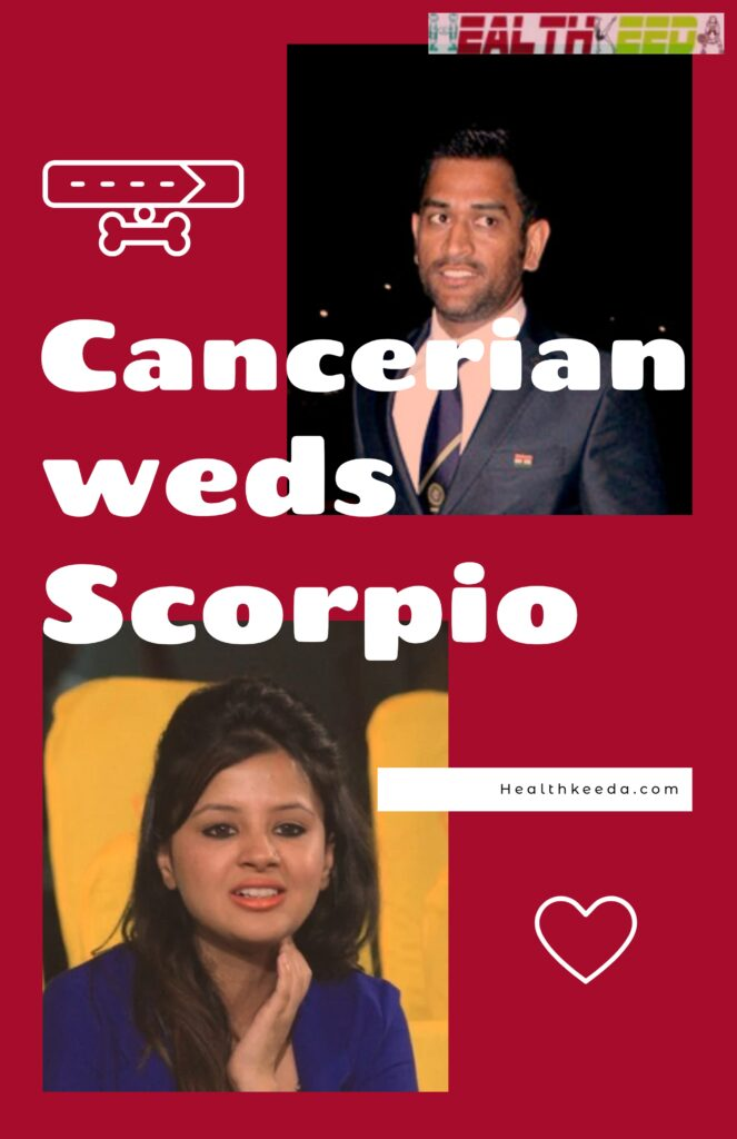 Cancerian weds Scorpio- Dhoni and Sakshi Rawat Collage