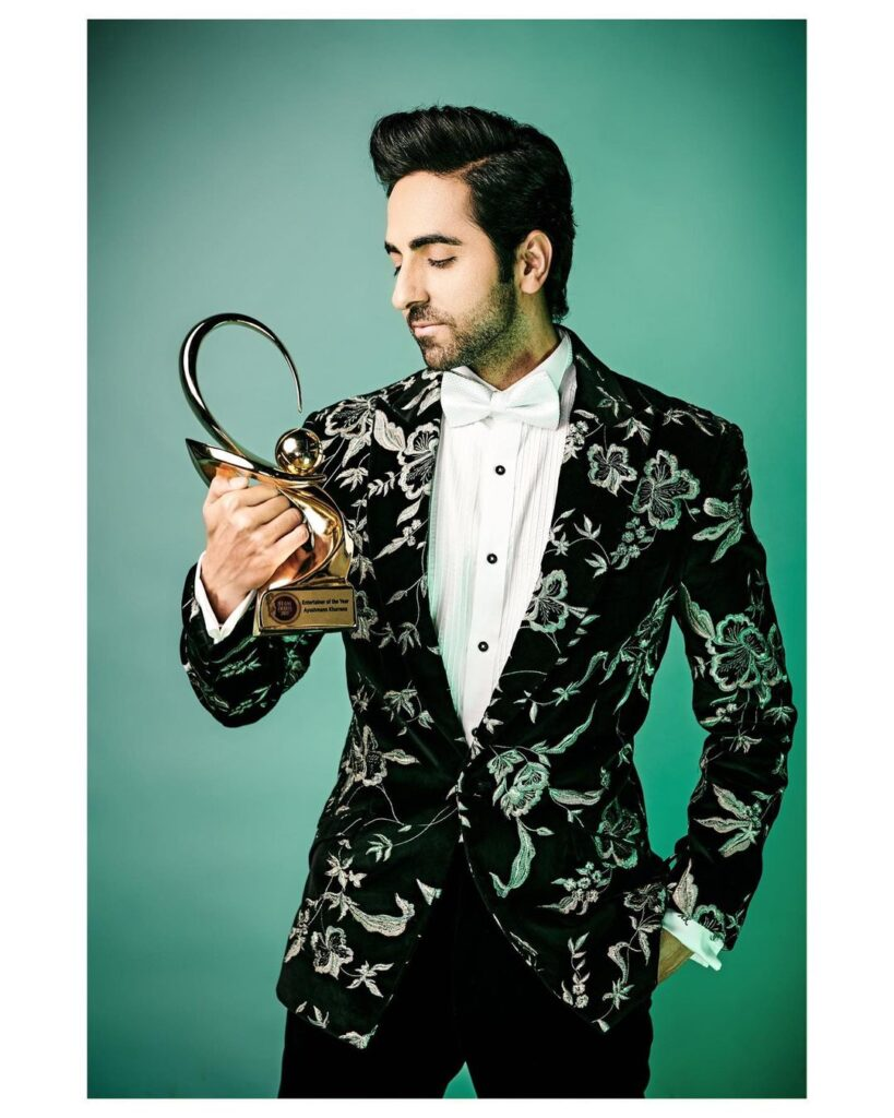 Ayushmann Khurrana Pose with Classic Man