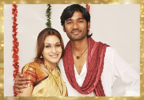 Dhanush married January Born Aishwarya R. - both are wearing traditional attires