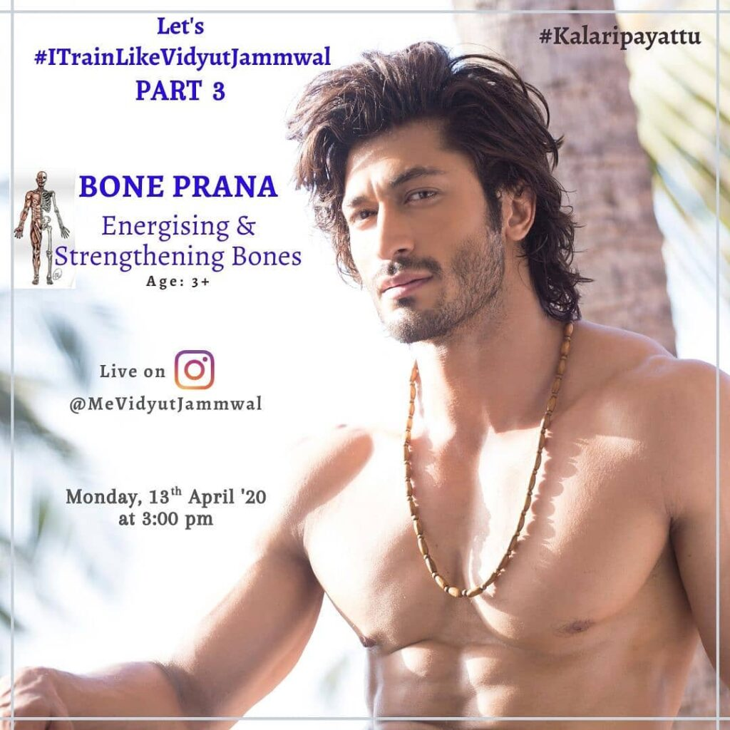 Vidyut Jammwal Pose with Funky Look