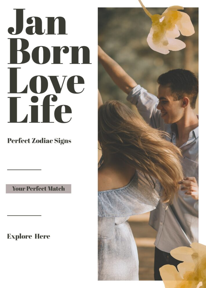 January Born Love Life