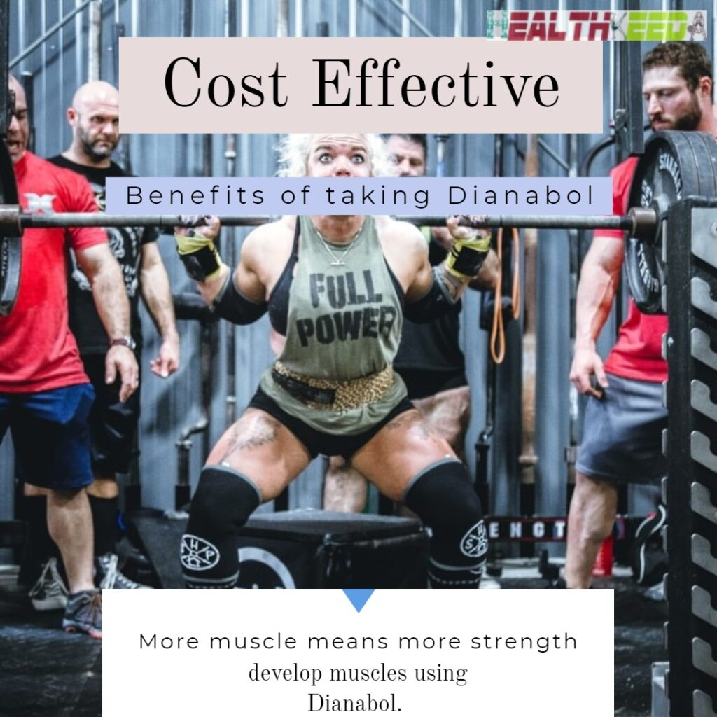 dianabol cost effective - woman bodybuilder performing heavyweight workout