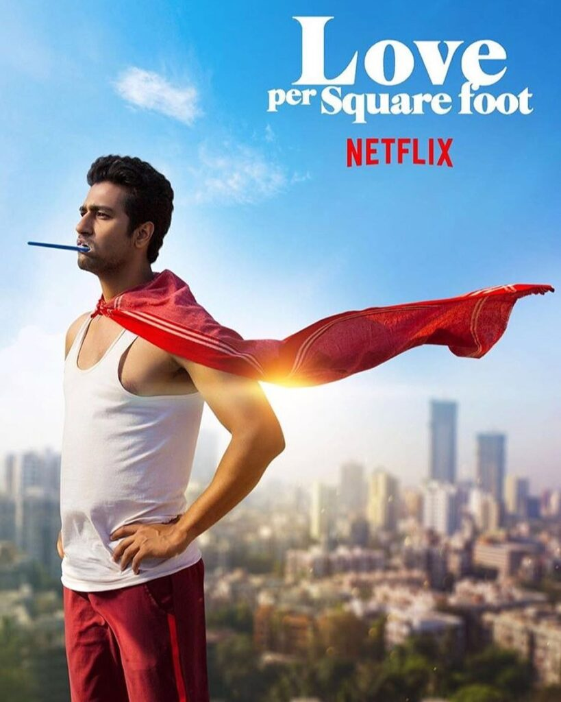 Vicky Kaushal standing with natural romantic look