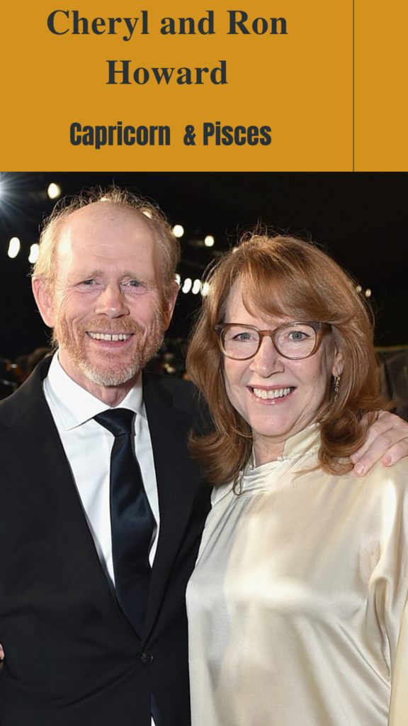 Cheryl Howard (Capricorn) and Ron Howard (Pisces) - Pisces Compatibility Signs