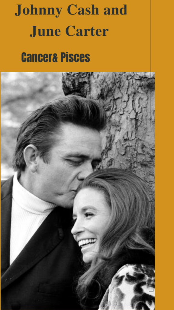 Johnny Cash and June Carter - Pisces Compatibility Signs