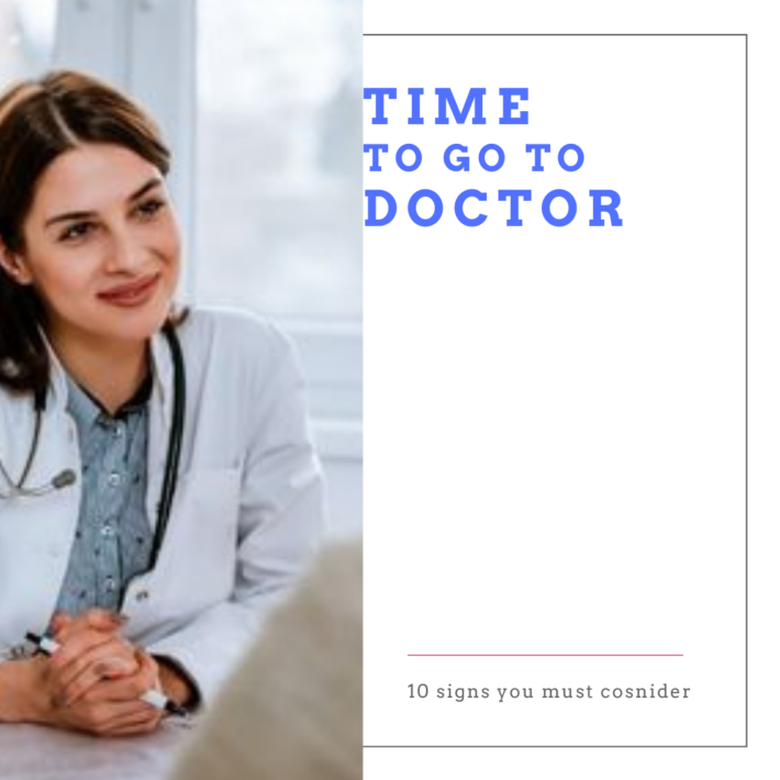 time to go to doctor