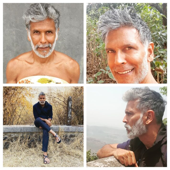 Milind Soman Haircare Routine and Latest Hairstyles