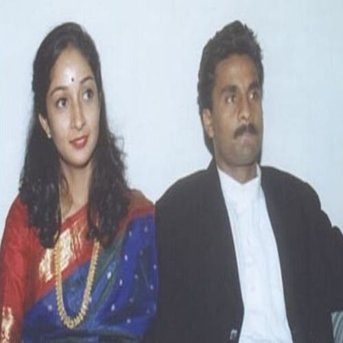 javagal Srinath sitting with his ex-wife jyotsna - Indian cricketers who got divorced