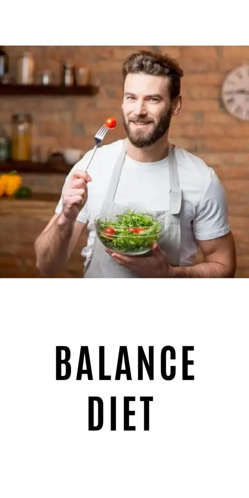 A man is standing and showing off his salad - how to grow a beard faster and thicker naturally